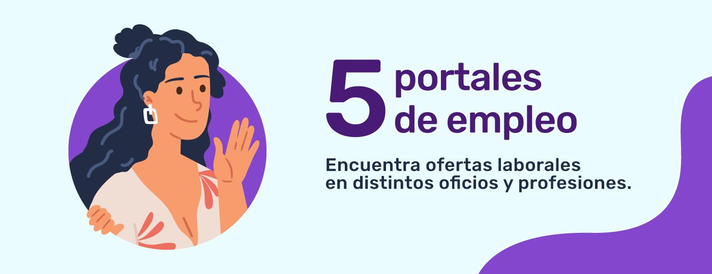 5 portales de empleo
